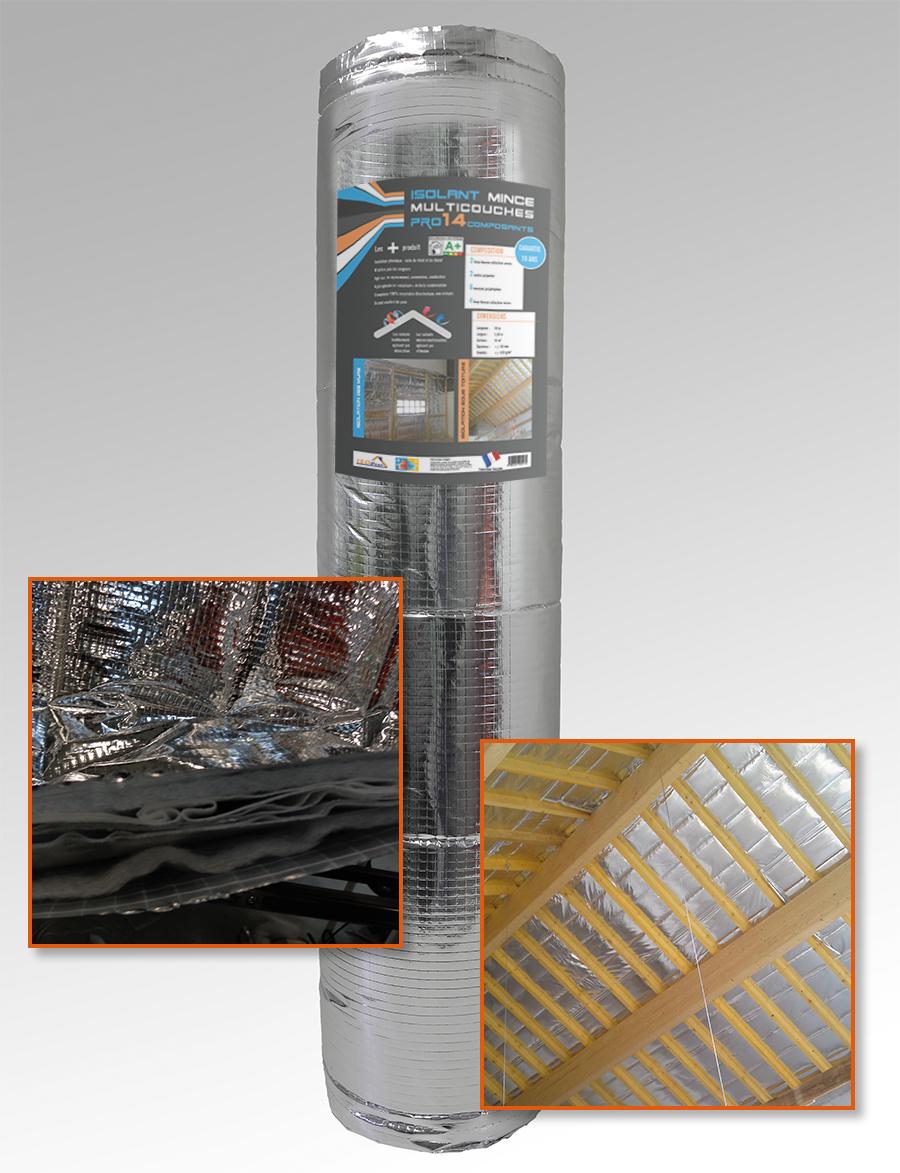 Isolant mince Pro 14 composants