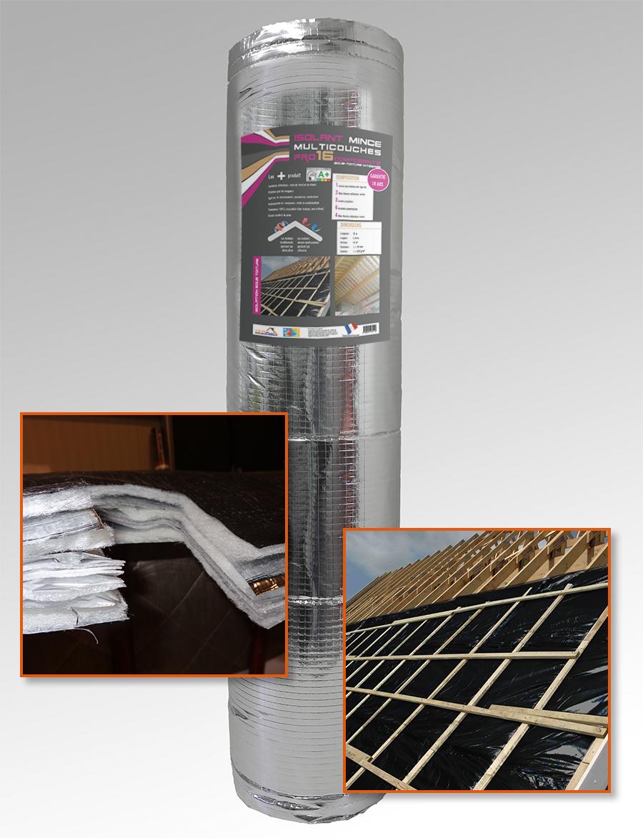 Isolant mince Pro 16 composants