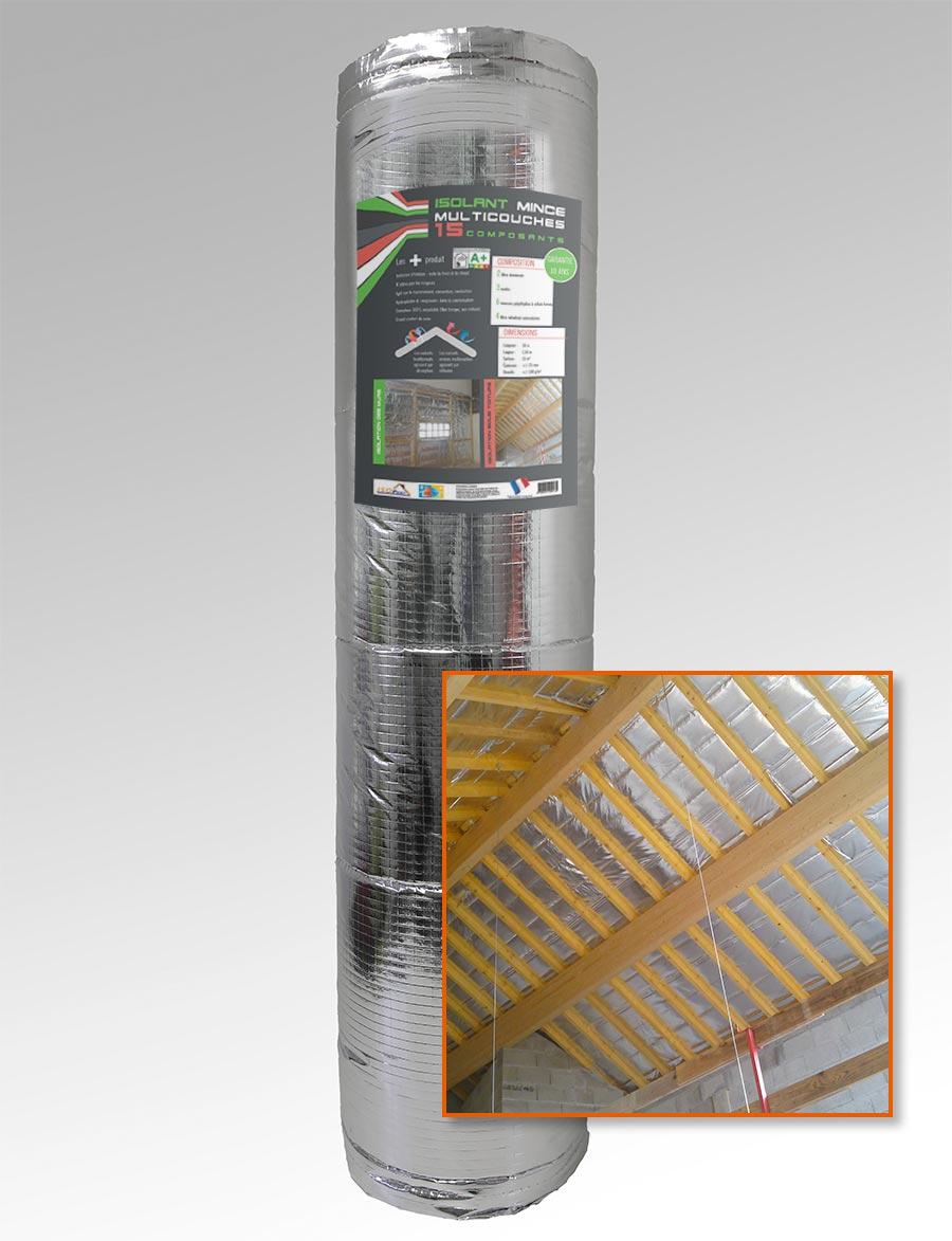 Isolant mince Pro M1 15 composants